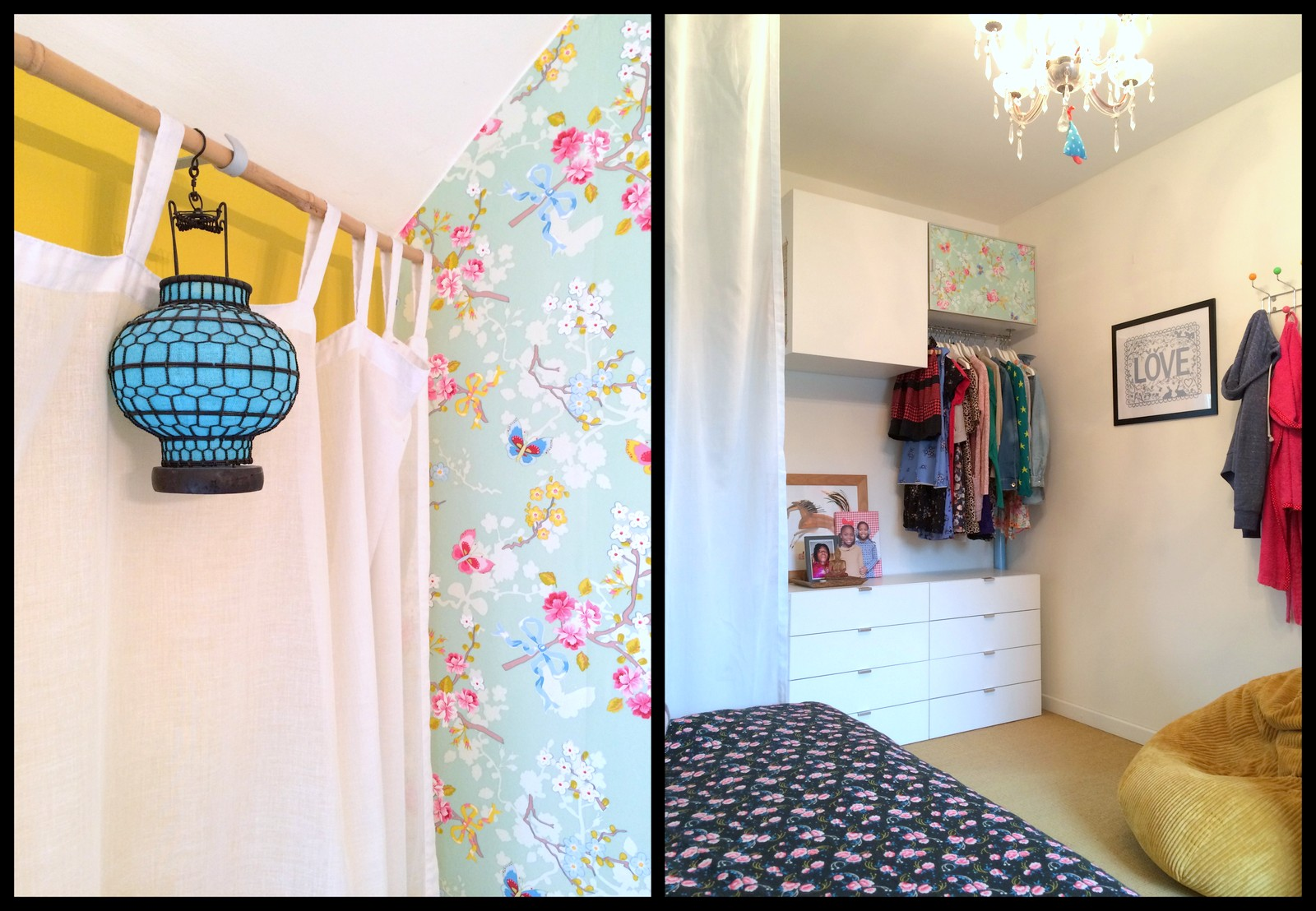 Marta's room (collage)