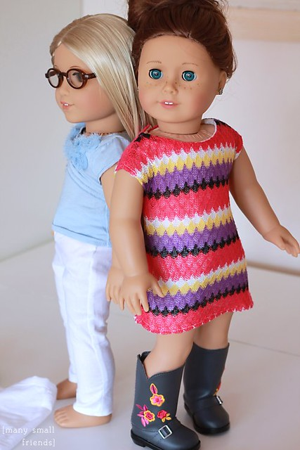 Julie and Saige American Girl Dolls