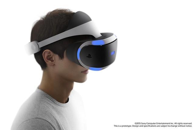GDC 2015 – обновленный шлем Project Morpheus для PS4