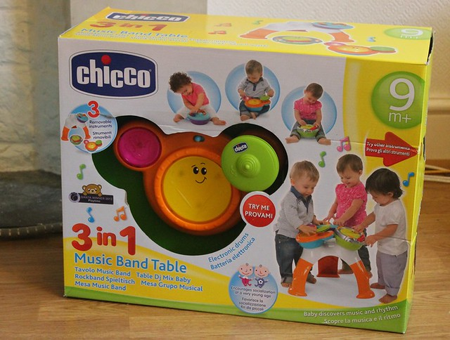 Review chicco 3 in 1 music band table mummy is a gadget - Tavolo music band chicco ...