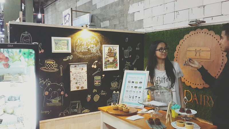 Daily Dairy Needs booth at Pop Up Market Balikpapan, March 2015.