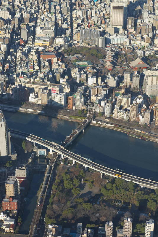 Tokyo Train Story 東武スカイツリーライン 2015年1月31日