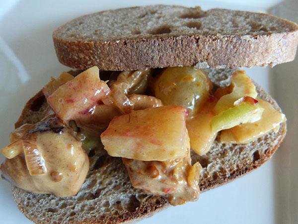 sandwich coronation salad