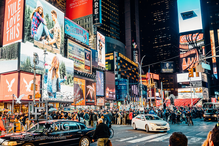 Times Square | New York City Thanksgiving 2014 | Sony A7R