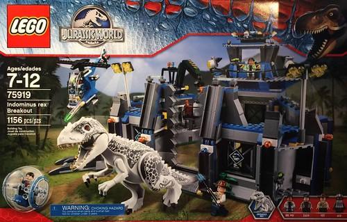 LEGO Jurassic World 75919 Box