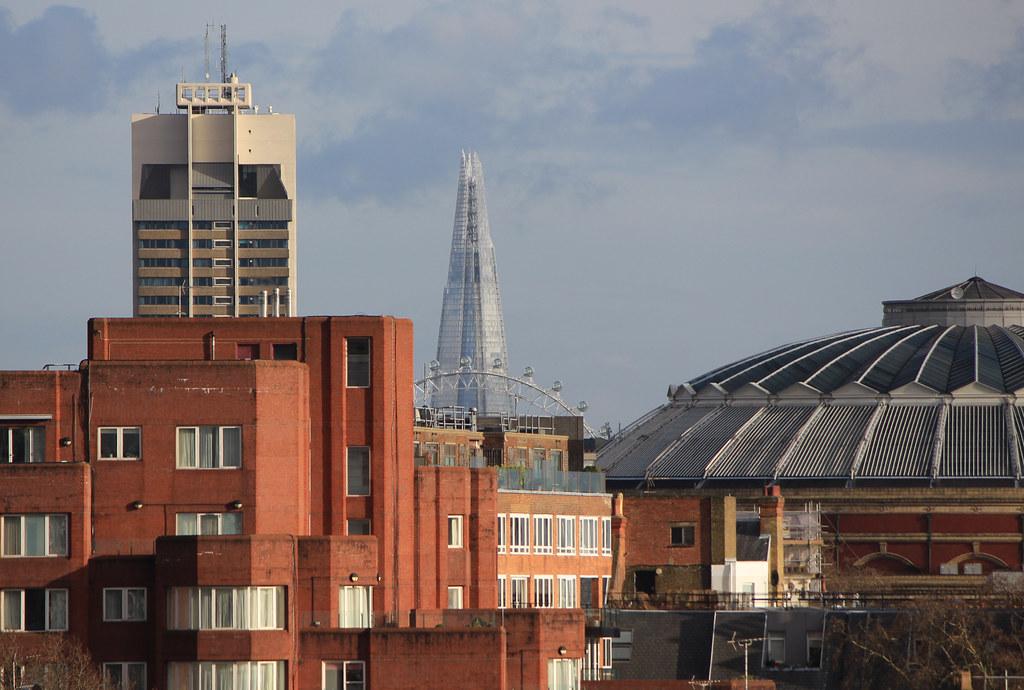 View From Kensington Roof Gardens 99 High Street W8