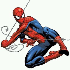 Start your day with a Thwip! #SpiderMan. #comics