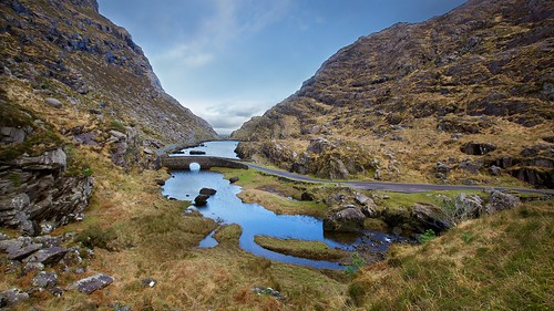 ireland winter landscape lakes kerry killarney gapofdunloe cokerry