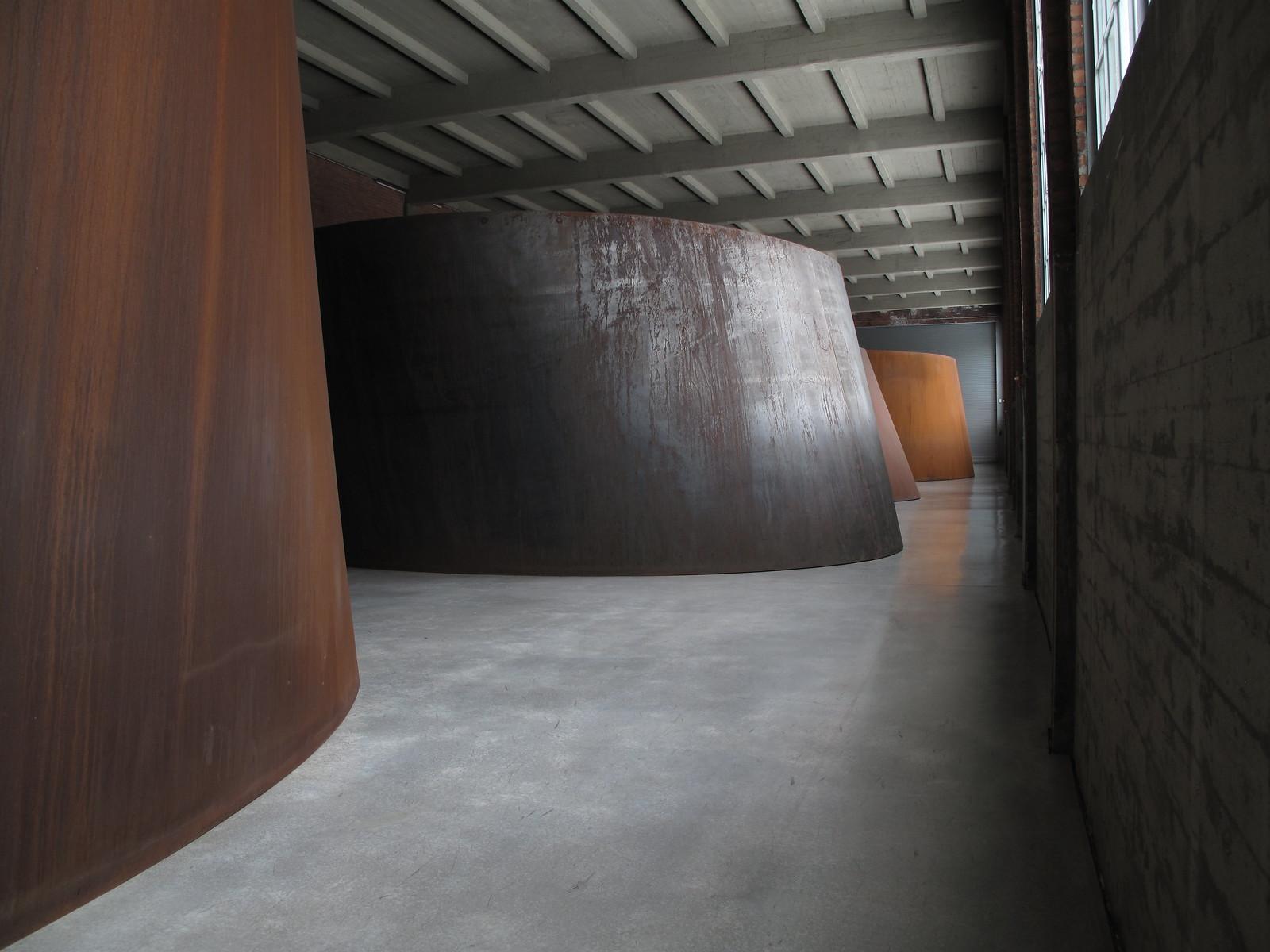 Torqued Ellipses Richard Serra Richard Serra Torqued Ellipses