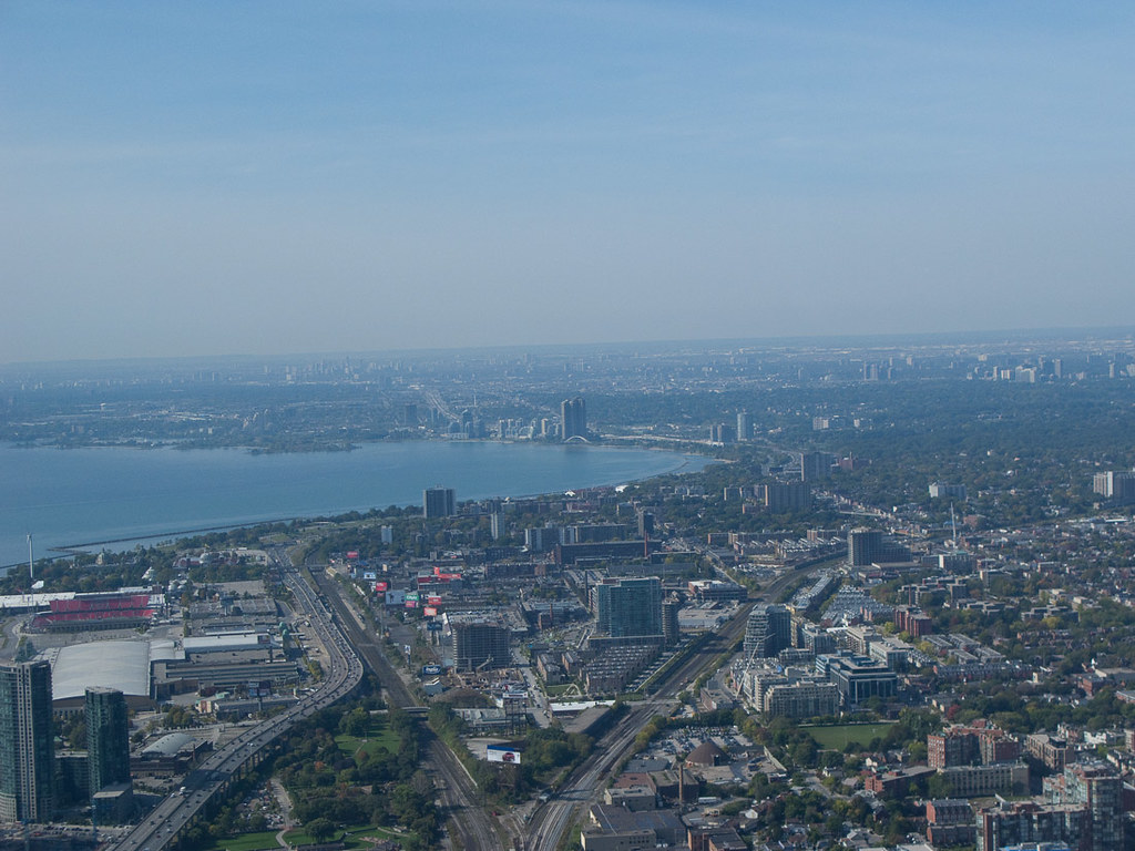View of Toronto from CN Tower
