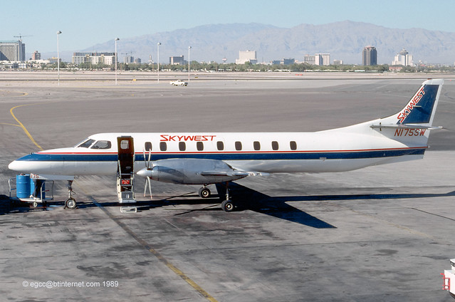 N175SW - 1985 build Fairchild SA227AC Metro III, still current with Berry Aviation
