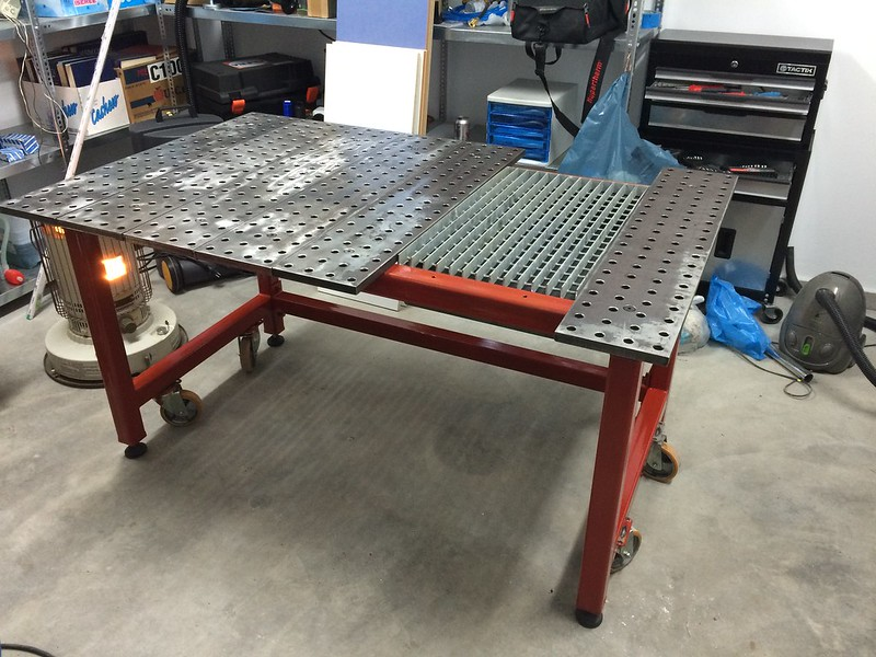 Marvelous Welding Bench Ideas Part - 9: Welding Table ...