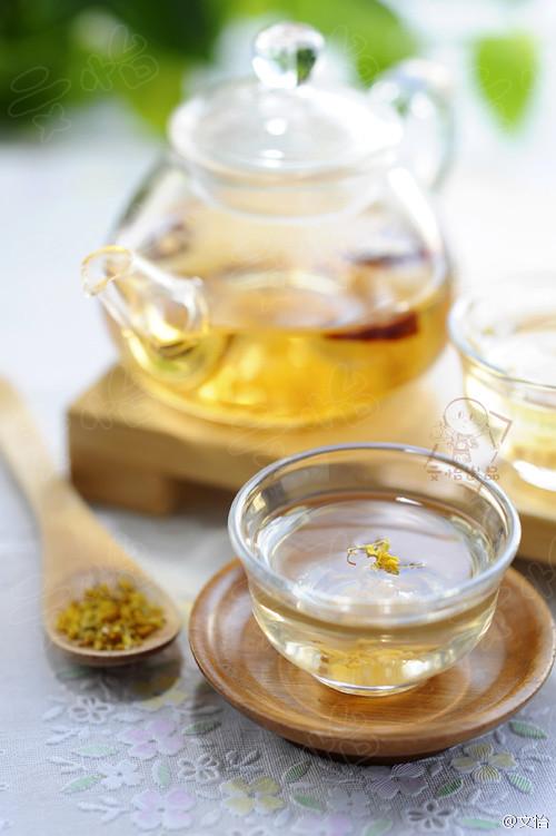 山楂桂花茶