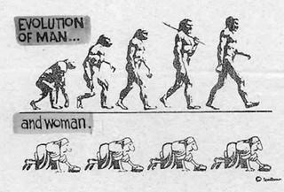 Evoluzione dell'uomo e ... della donna