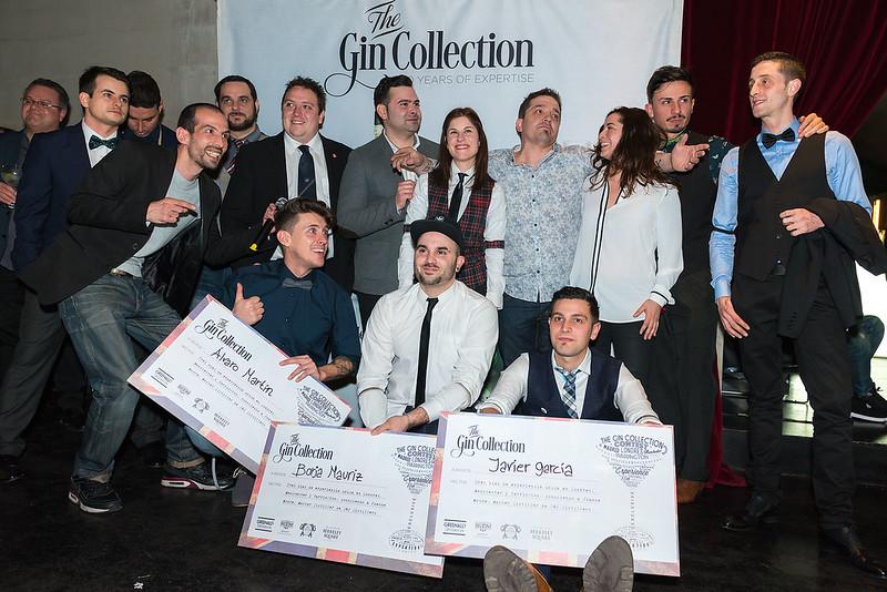 """Ganadores y participantes """"The Gin Collection Contest"""""""