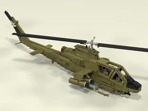AH-1G Huey Cobra front upper right