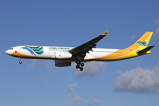 5 mars 2015 - CEBU  PACIFIC  AIR - Airbus  A 330-300   F-WWCH   msn 1602 - LFBO - TLS