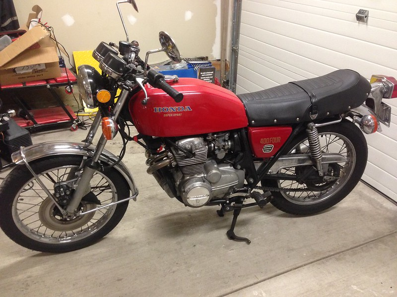 Cb400F as purchased