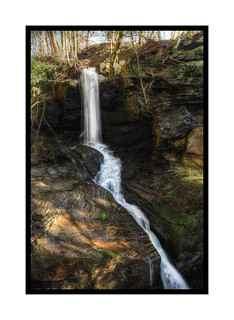 Lumsdale Falls ... in Color!