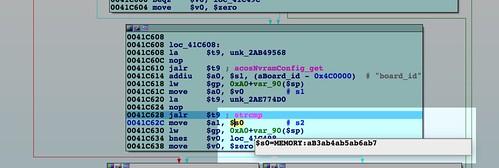 strcmp board_id