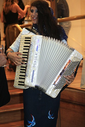 piano accordion player