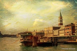 Venetië als schilderij