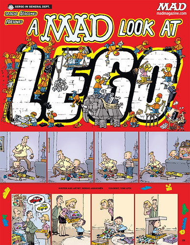 MAD Magazine #532 - A MAD Look at LEGO