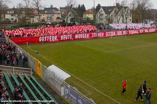 BSG Chemie Leipzig vs. 1. FC Union Berlin (veteran teams)