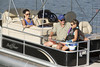 Sunchaser Classic 8522 CnF Pontoon Boat