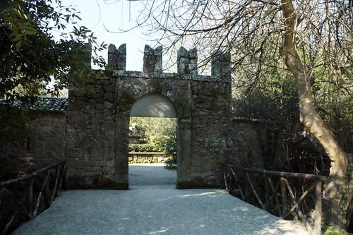 Parco dei Mostri: porta d'entrata