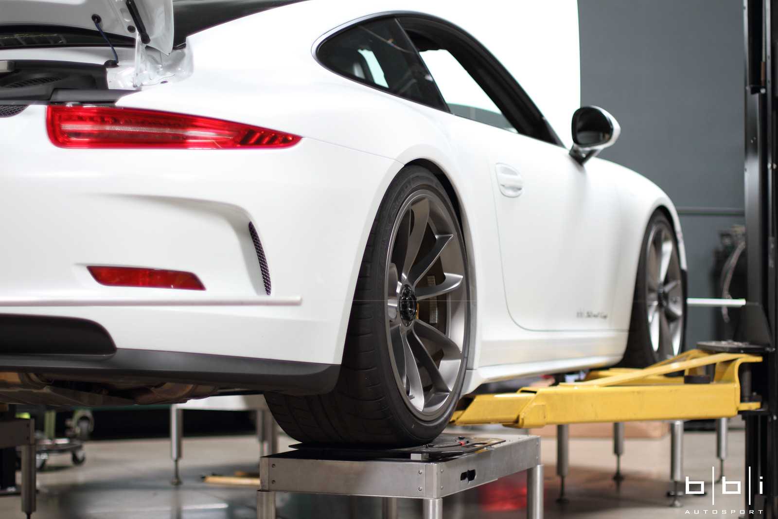 Bbi Porsche 991 Gt3 Gt3rs Streetcup Suspension Upgrade