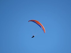 gliding(0.0), toy(0.0), paragliding(1.0), parachute(1.0), wing(1.0), air sports(1.0), sports(1.0), parachuting(1.0), glider(1.0), windsports(1.0), extreme sport(1.0),