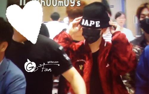 Big Bang - Incheon Airport - 26jul2015 - GD Fan - 01