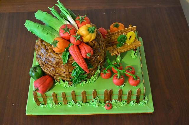 Gardener Cake by Irina Kramorenko of IrinaK