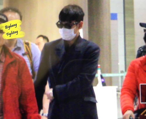 Big Bang - Incheon Airport - 27mar2016 - BigbangFighting - 10