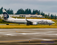Slab of 737-900 at Paine Field