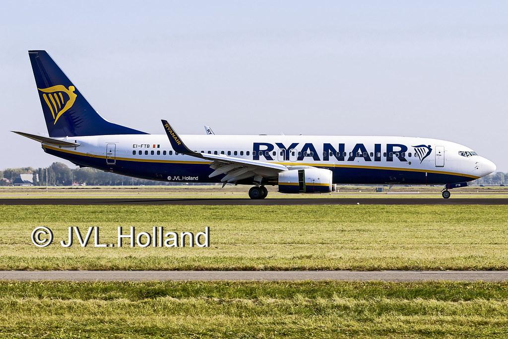 EI-FTB - B738 - Ryanair