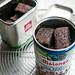 Salty, Deep-Dark Chocolate Brownies by David Lebovitz