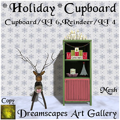*Holiday* Cupboard  - Xmas VIP Group Gift Dreamscapes Art Gallery