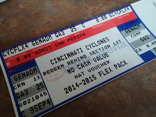 Cyclones tickets