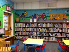 bookselling(0.0), play(0.0), public library(0.0), school(1.0), room(1.0), classroom(1.0), library(1.0),