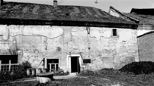 Přerov nad Labem (NB), čp. 21, pivovar (5.5.1990)