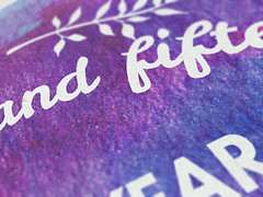 An inspirational new year resolution poster tutorial