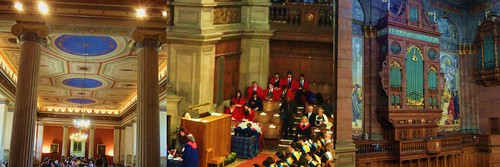Graduation Ceremonies Right here & There …