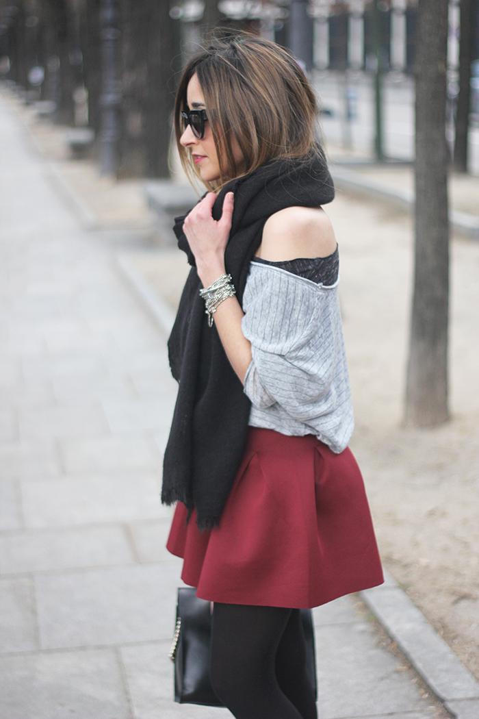Flared Skirt11