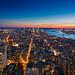 Blue Sky on Manhattan by dirac3000
