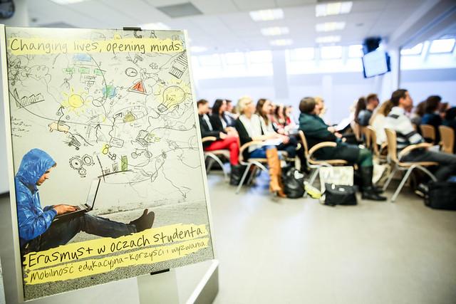 Debata studentów programu Erasmus+