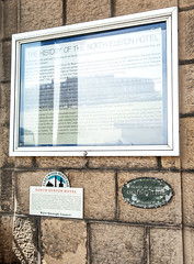 Photo of Decimus Burton and North Euston Hotel, Fleetwood white plaque