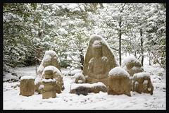 日本京都-金閣寺-雪.68