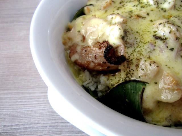 Bug & Bee baked creamy chicken chop rice 3